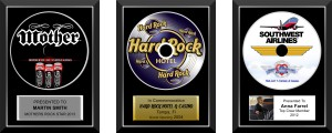 Promotional CD Awards by Brand O' Guitar Company