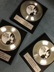 Promotional Classic Record Awards by Brand O' Guitar Company