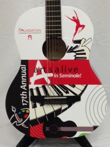 Custom promotional guitar by Brand O' Guitar Company