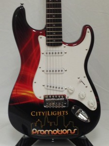 City Lights Promotional Guitar By Brand O' Guitar Company