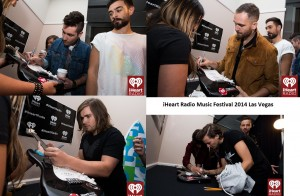 2014 iHeart Radio Music Festival, Signing of Promotional Guitar Awards