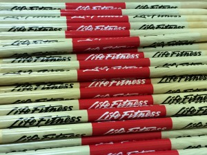 "Promotional Drum Sticks by Brand O"" Guitar Company"